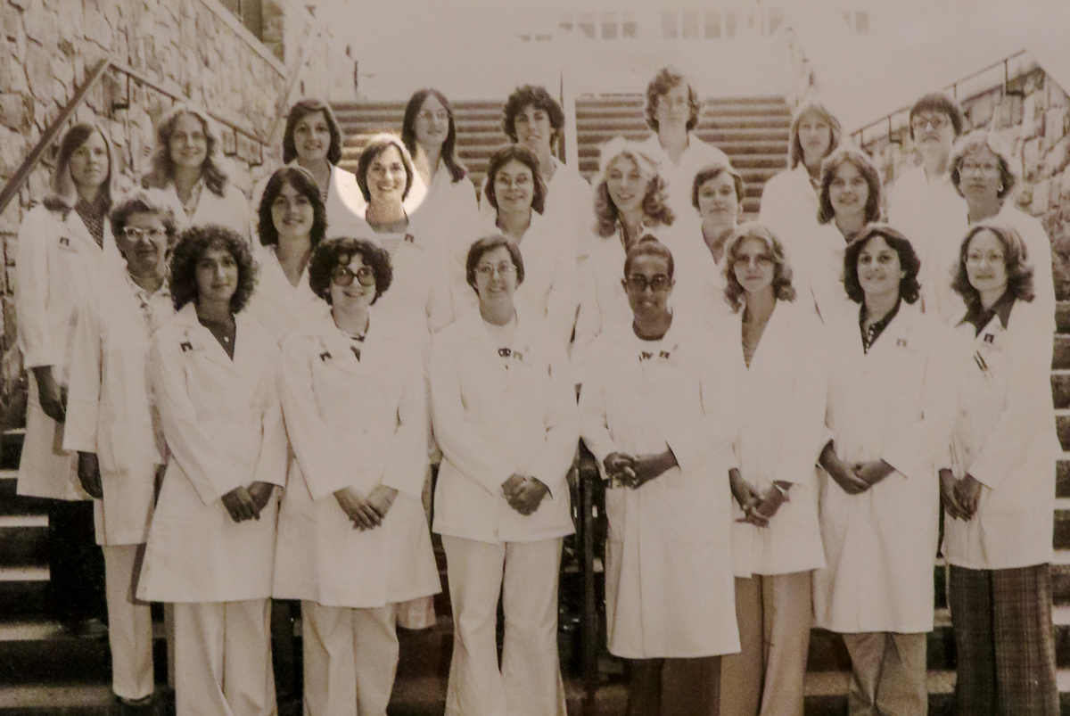 Medical Technology Class of 1978 - Sue is in the second row, third from the left.